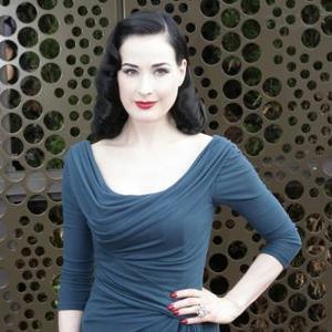 Dita Von Teese Practiced Look