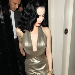 Dita Von Teese 'Blatant' About Design Rip Off