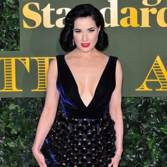 Dita Von Teese will embrace grey