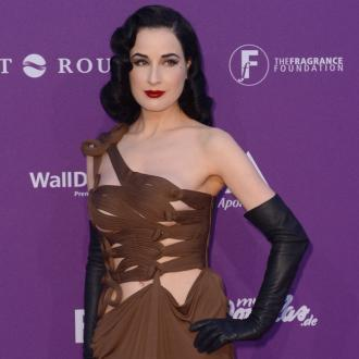 Dita Von Teese 'The Same' As Manson