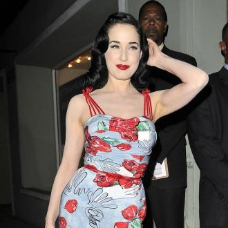 Dita Von Teese Regularly Dyes Hair