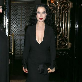 Dita Von Teese Channels Vintage Vibe For Hsn Lingerie