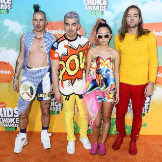 DNCE don't put pressure on themselves