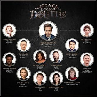 Robert Downey Jr Reveals Doctor Dolittle Voice Cast