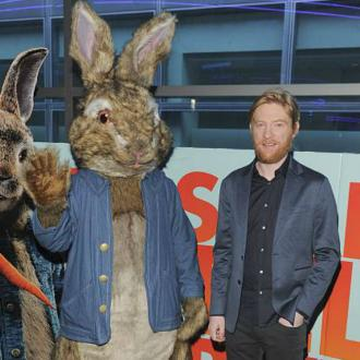 Domhnall Gleeson sprained his ankle filming Peter Rabbit