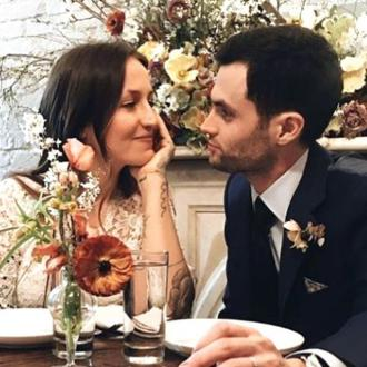 Penn Badgley has got married - again