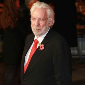 Donald Sutherland hopes Hunger Games encourages people to vote