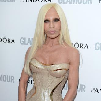 Donatella Versace Speaking Italian