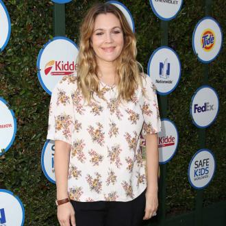 Drew Barrymore's wine relaxation