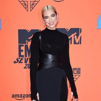 Dua Lipa turns to cartoon drawing amid lockdown