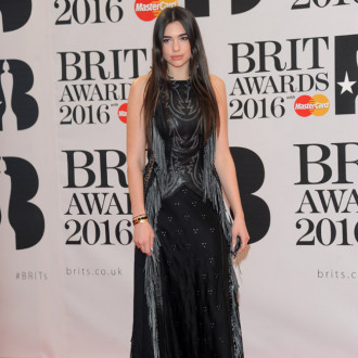 Dua Lipa's BRITs performance is London-themed