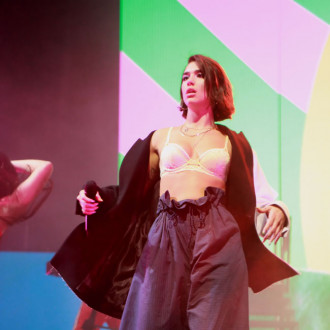 Dua Lipa blocked out intense 'pressure' to succeed with second album