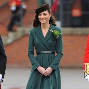 Duchess Catherine Meets Irish Guards