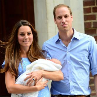 Duchess Of Cambridge Leaves Hospital With Newborn Son