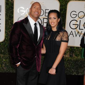 Dwayne Johnson's Daughter Named Golden Globe Ambassador