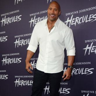 Dwayne Johnson Wears Testicle Hair Beard