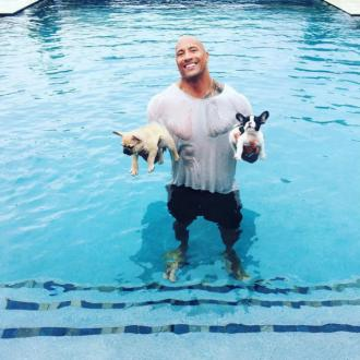 Dwayne Johnson's new pup nearly drowns