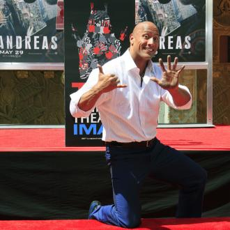 Dwayne Johnson Immortalised In Handprint Ceremony