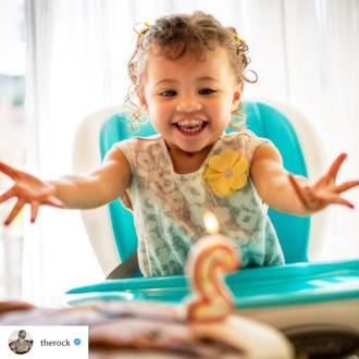 Dwayne Johnson gushes over daughter on her birthday