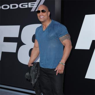 Dwayne Johnson's hard Skyscraper homework