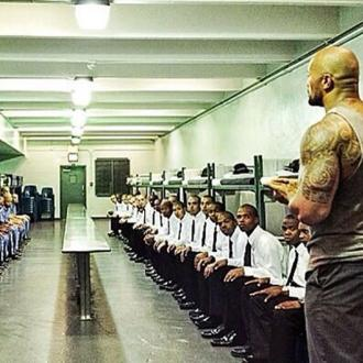 Dwayne Johnson addresses prison inmates