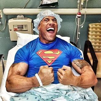 John Cena - Dwayne 'The Rock' Johnson undergoes successful surgery