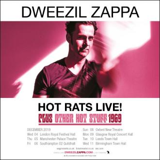 Dweezil Zappa To Return To The UK In December