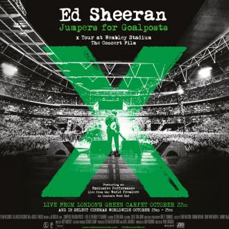 Ed Sheeran Film 'Jumpers For Goalposts' In Cinemas Next Month