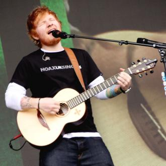 Ed Sheeran feared peeing himself in front of thousands