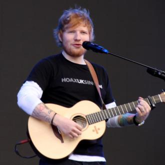 Ed Sheeran's raffle win