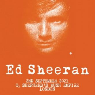 Ed Sheeran announces intimate London gig