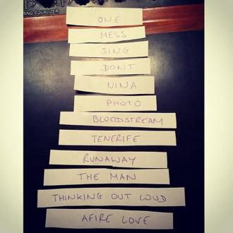 Ed Sheeran Reveals Album Track-list