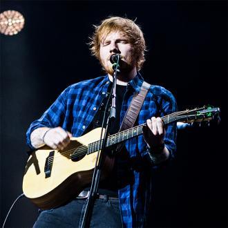 Ed Sheeran Donates Gold Album Disc To Cafe