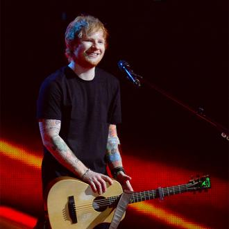 Ed Sheeran Catches Up With Elton John 'Twice A Week'