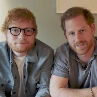 Ed Sheeran teams up with Prince Harry for World Mental Health Day video