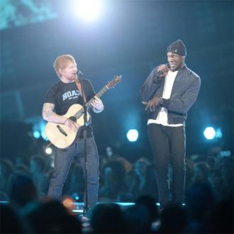 Ed Sheeran Joins Stormzy At London Concert