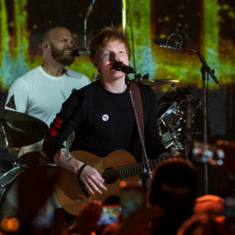 Coldplay bring out Ed Sheeran for Fix You at intimate London gig