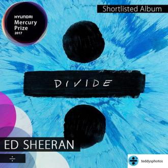 Ed Sheeran always dreamed of having a Mercury Award nominated album