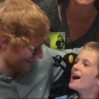 Ed Sheeran makes fan's dream come true