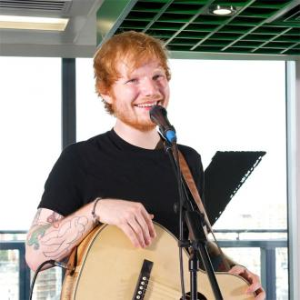 Ed Sheeran Records Album With Rudimental And The Game