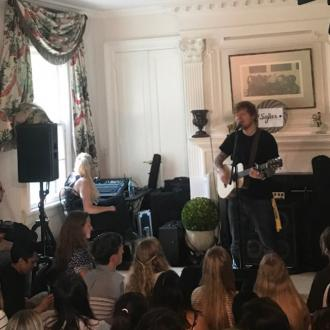 Ed Sheeran's Show In Holly Branson's Living Room