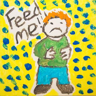 Ed Sheeran draws himself for charity auction