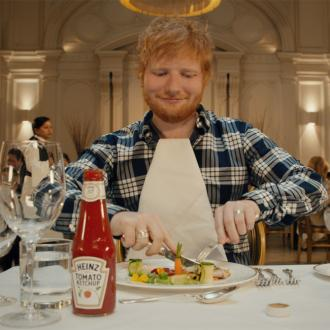 Ed Sheeran's Heinz advert inspired by restaurant visit
