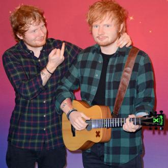 Ed Sheeran Impressed With Wax Model's Bulge