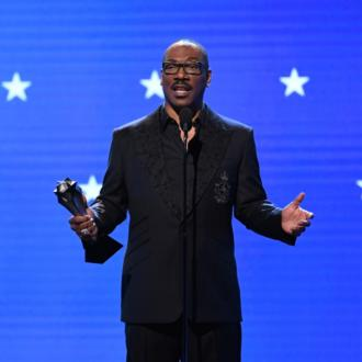 Eddie Murphy tells actors to 'never play a spaceship' at Critics' Choices Awards