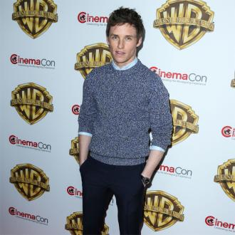 Eddie Redmayne gets 'stage fright' from using a wand