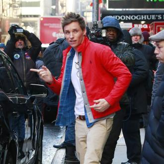 Eddie Redmayne's magic gift gaffe