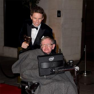 Eddie Redmayne's Hawking embarrassment