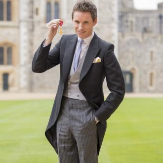 Eddie Redmayne is made an OBE