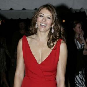 Elizabeth Hurley Puzzled By Sudoku